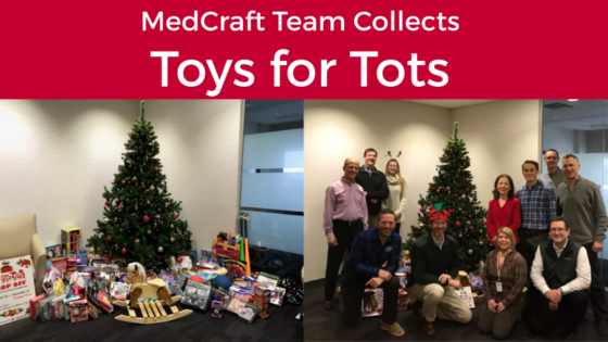 Toys For Tots Community : Giving back to the community medcraft healthcare real estate